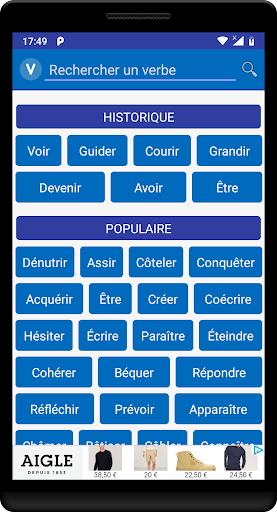 Download Verbe Conjugaison Free For Android Verbe Conjugaison Apk Download Steprimo Com