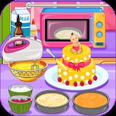 Tải Game Baby Shower Cake
