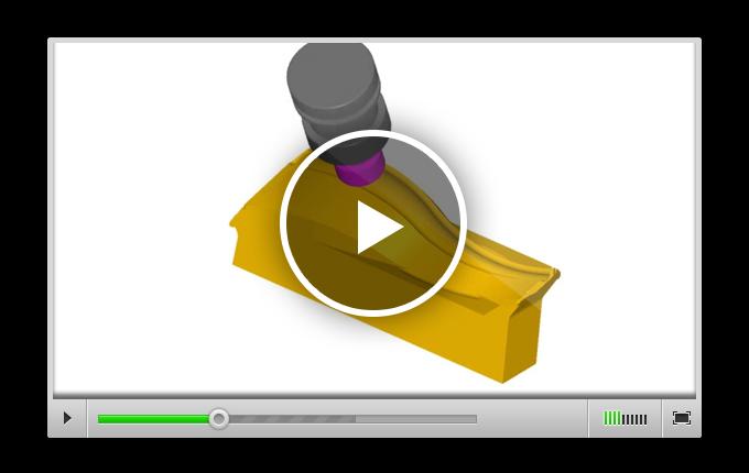 Симуляция черновой 3-осевой обработки, 5-осевой обработки и гравирования элементов мебели в ALPHACAM