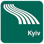 Kyiv Map offline icon