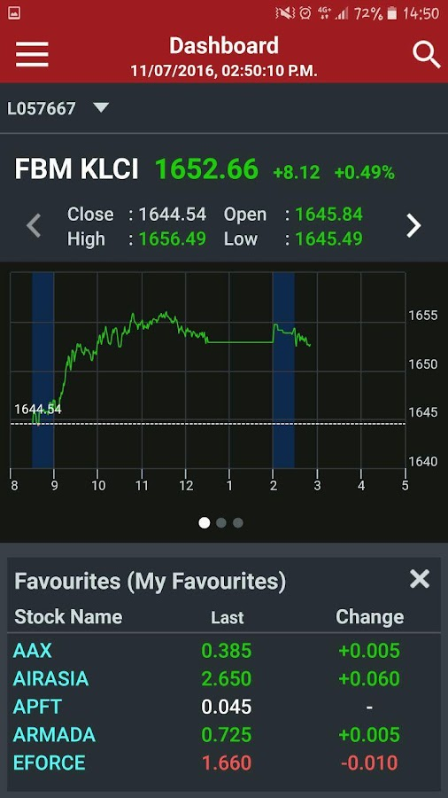 UTRADE MY Mobile for Tablet- screenshot