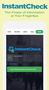 InstantCheck Background Check screenshot