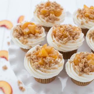 Peach Pie Cupcakes.