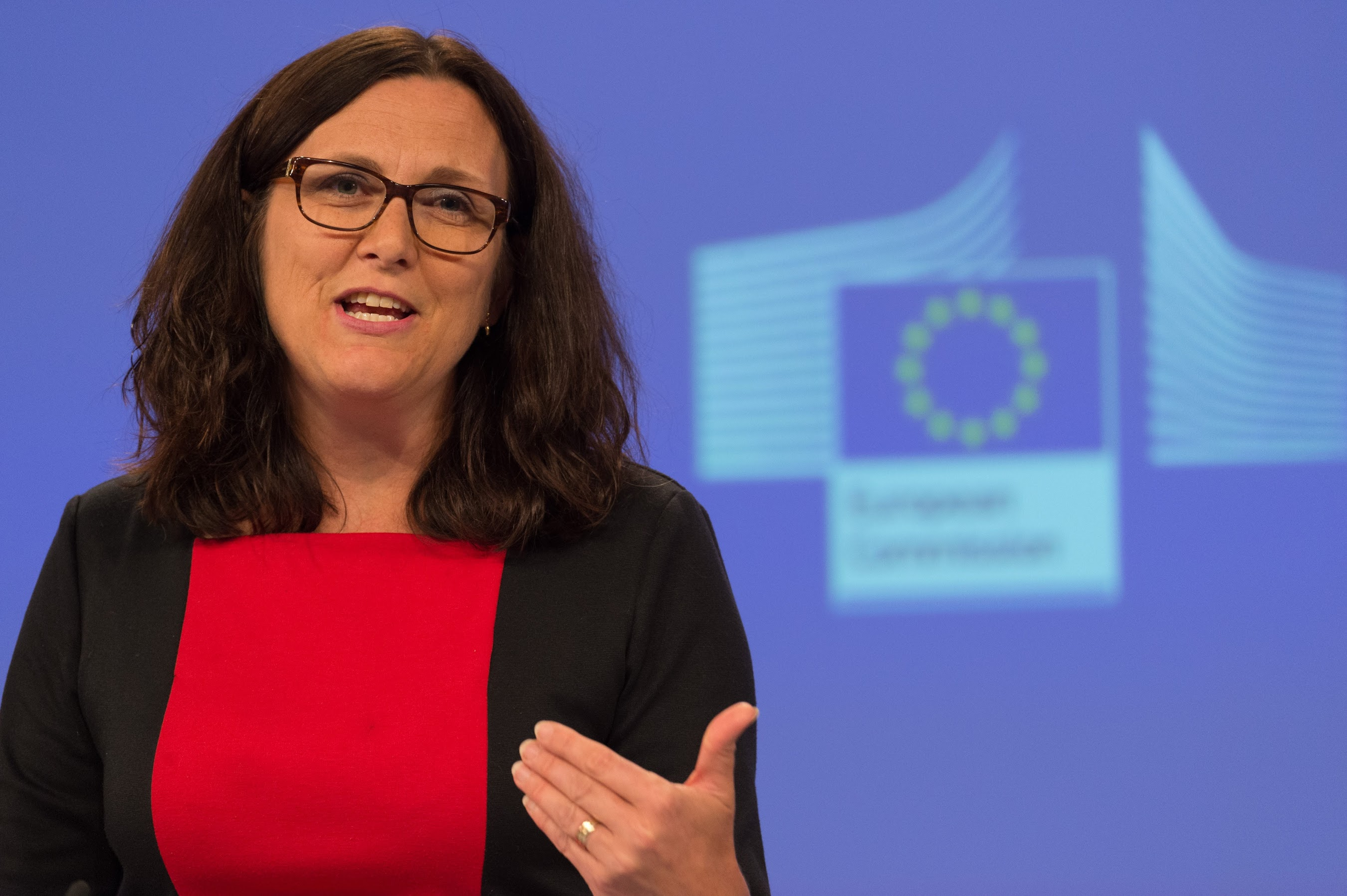Cecilia Malmstroem - © European Union, 2015 / Source: EC - Audiovisual Service / Photo: Georges Boulougouris