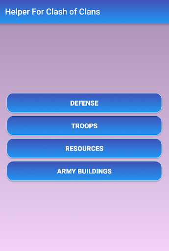 Helper For Clash of Clans