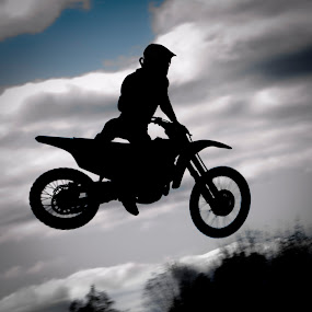 Motocross by Daniel Tompkins - People Fine Art ( quad, motocross, motorcycle )