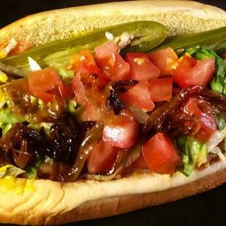 Chicago-Style Polish Sausage.