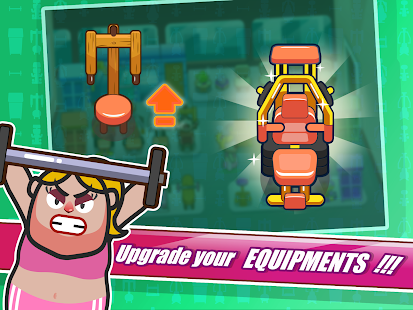 Fat to Fit - Fitness and Weight Loss Gym Game- screenshot thumbnail