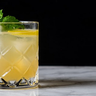 Whiskey & Ginger Smash Recipe