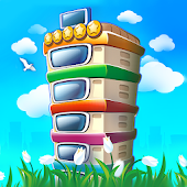 Pocket Tower: Building Game & Megapolis Kings