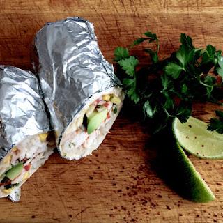 64 Healthy Chicken Burrito