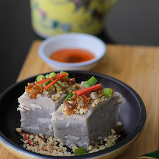 Savoury Yam Cake / Or Kueh.