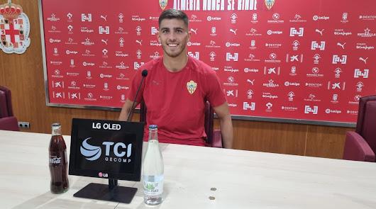 """Babic: """"Cada día veo un Almería mejor"""""""