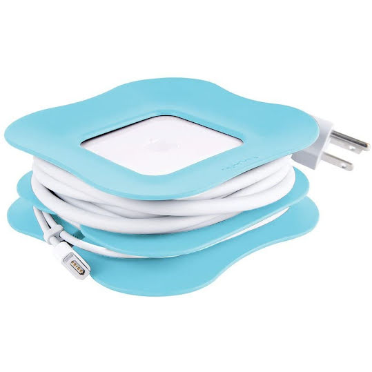 Quirky Powercurl 60w Clip-On cord wrap Blå