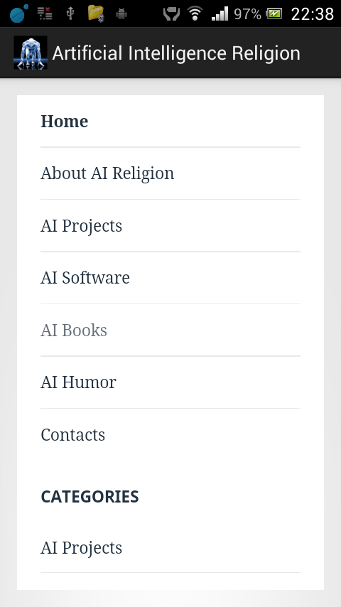 Artificial Intelligence Religion & Faith- screenshot