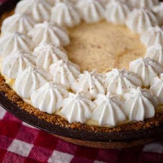 Eggnog Cream Pie.