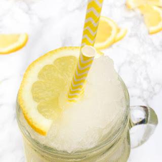 Frozen Lemonade with Rose Water