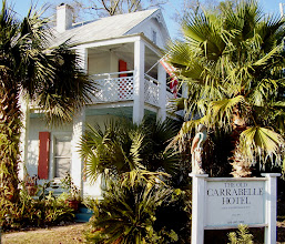 Photo: The wonderful Old Carrabelle Hotel (Carrabelle, Florida Panhandle). Photo with kind permission by Skip and Kathy, owners of the Old Carrabelle Hotel.