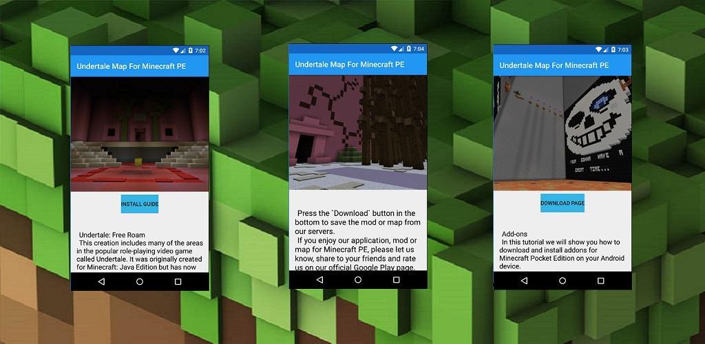 Undertale Map For Minecraft PE 1 1 Apk Download