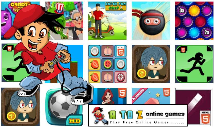 Atoz Online Games- screenshot