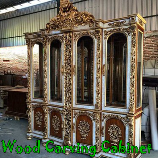 Wood Carving Cabinet (app)