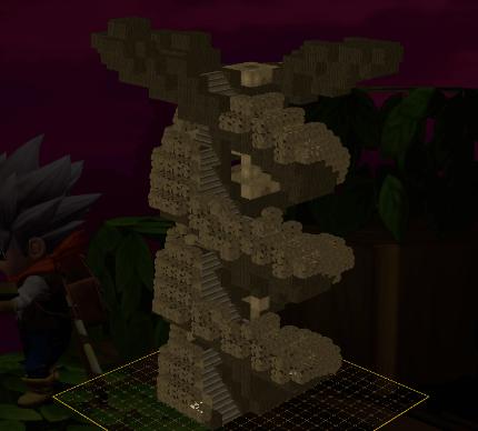 ビルダーズ2「大樹の設計図3」