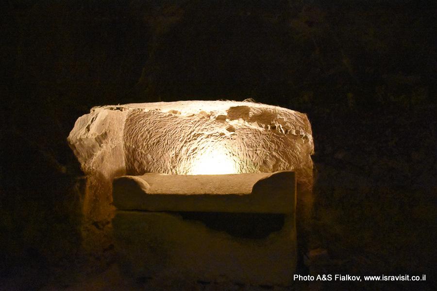 Еврейская гробница в Национальном парке Бейт Шеарим. Экскурсия гида по Израилю Светланы Фиалковой.