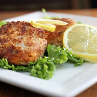 Salmon Patties with Old Bay.