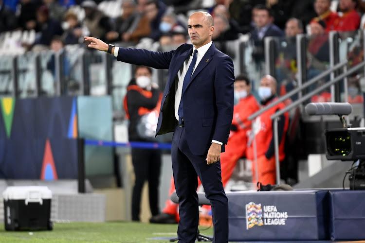 Roberto Martinez était déjà présent à l'entraînement des U21