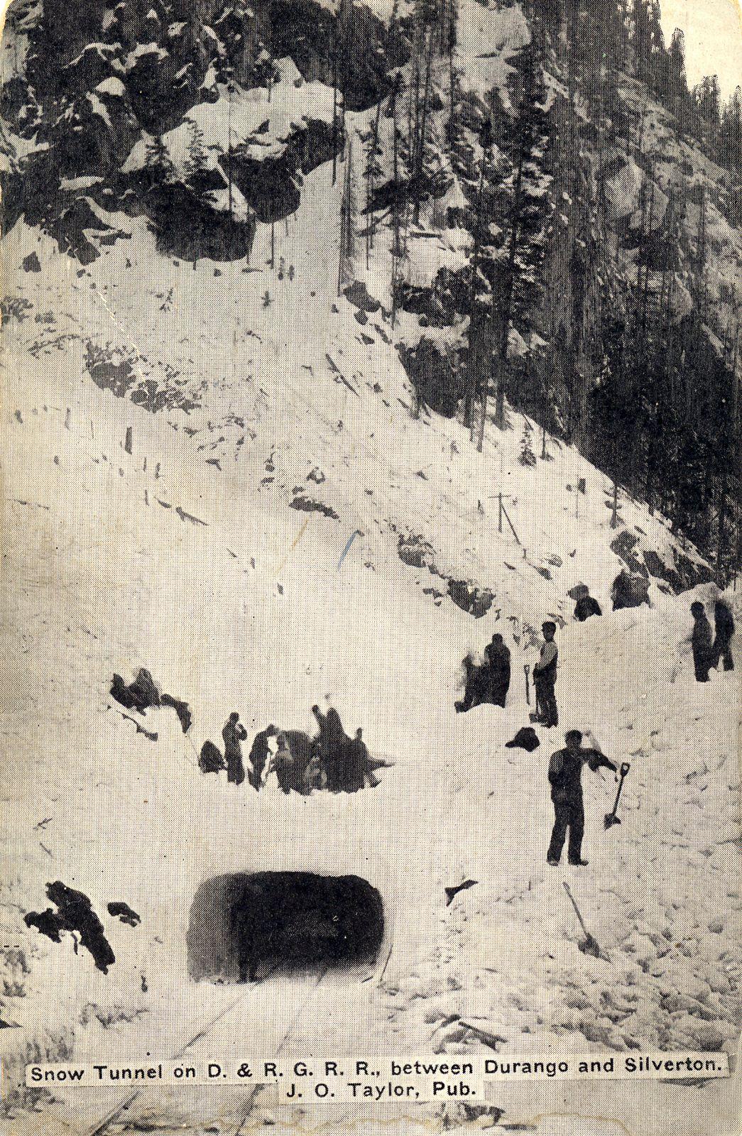 Photo: Snow Tunnel near Silverton