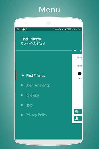 Unlimited Friends Search for WhatsApp 1.6 screenshots 4