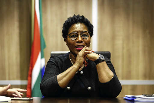 State security minister Ayanda Dlodlo. File photo