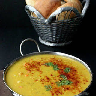 Red Lentil Dahl Soup.