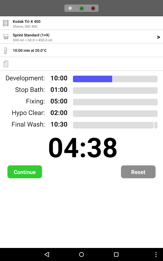 Massive Dev Chart Timer – Screenshot