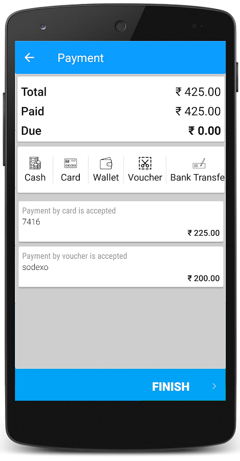Just Billing Enterprise App- screenshot