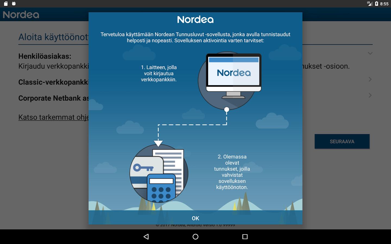 Nordea Tunnuslukusovellus Ei Toimi 2021