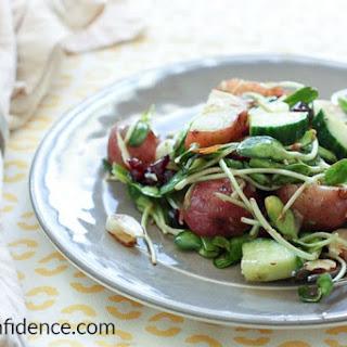 Zesty Asian Style Potato Salad.