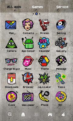 POP GO Launcher Theme - screenshot