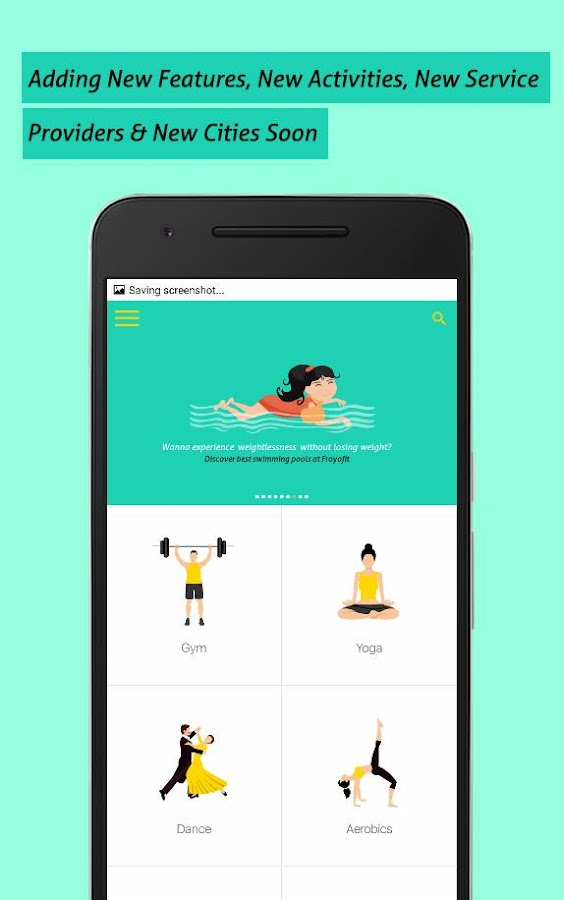 Froyofit - Your Fitness App- screenshot