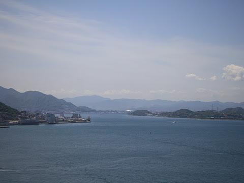 JR九州バス「広福ライナー」 4554 関門橋通過