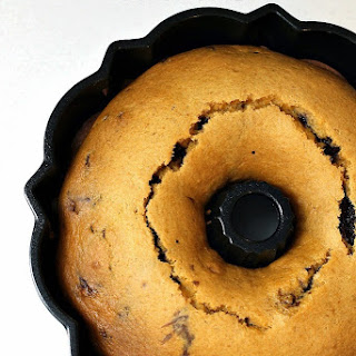 Pumpkin Chocolate Marble Bundt Cake.