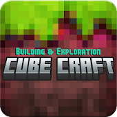 Epic Cube Craft: Crafting Game Adventure icon