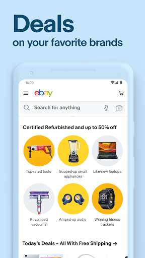Foto do eBay: Discover great deals on the brands you love