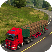 Truck Games : Real Wood Cargo Transporter 3D