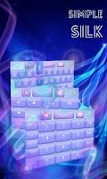 Screenshot of Simple Silk GO Keyboard