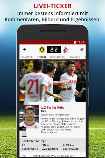 玩免費運動APP|下載kicker - Fußball Bundesliga app不用錢|硬是要APP