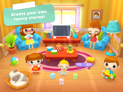 Sweet Home Stories – My family life play house 7