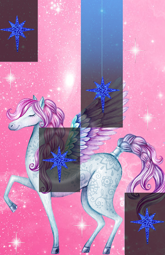 Pegasus Piano Pony Tiles : Unicorn Horn Horse Game 1.1.5 screenshots 2