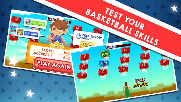 Kids basketball (sport) - screenshot