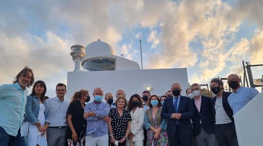 El nuevo Faro de Mojácar entra oficialmente en funcionamiento